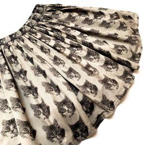 ⚫️GapKids cat skirt